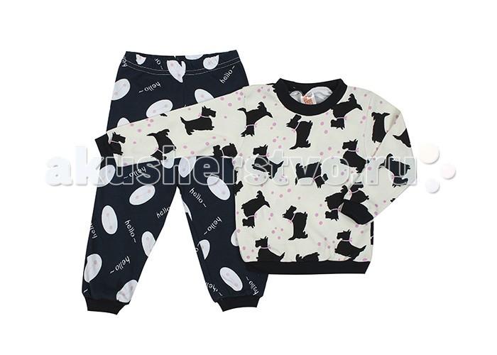 Пижамы и ночные сорочки Idea Kids Пижама для девочки Hello пижамы и ночные сорочки idea kids пижама кофточка и штанишки
