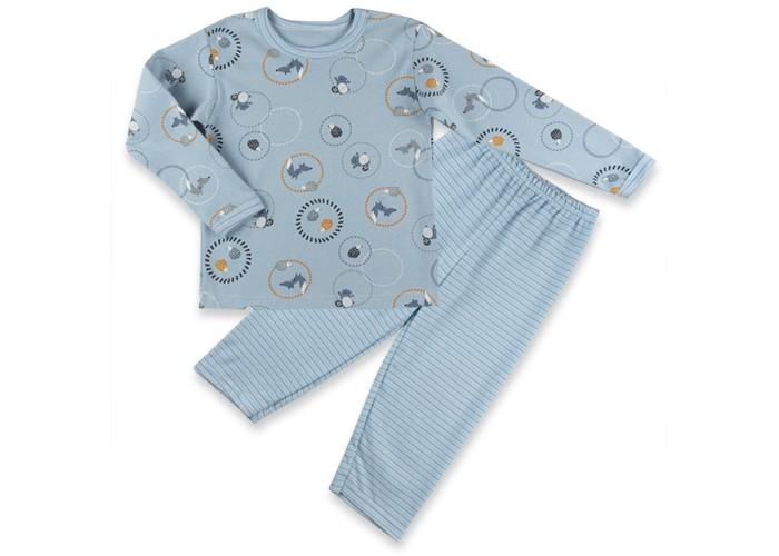 Пижамы и ночные сорочки Idea Kids Пижама (футболка длинный рукав, штанишки) пижамы и ночные сорочки nannette пижама для малышей 26 1785