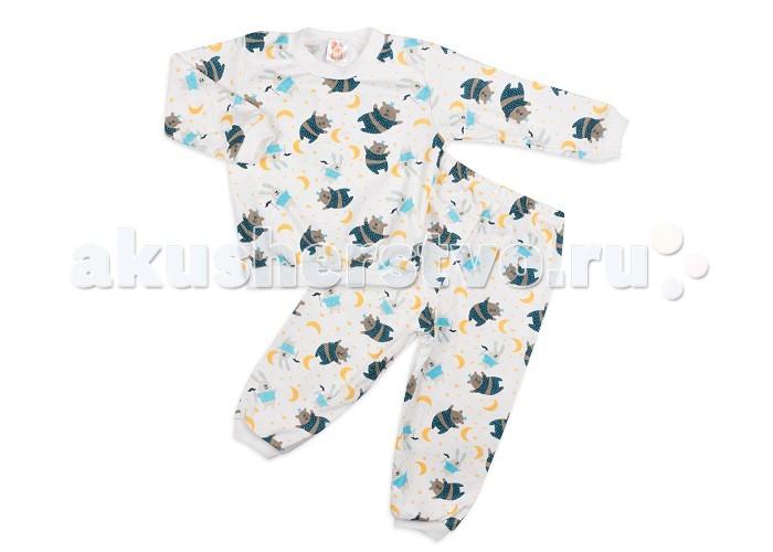 Пижамы и ночные сорочки Idea Kids Пижама Медведи и зайцы пижамы и ночные сорочки idea kids пижама собачки