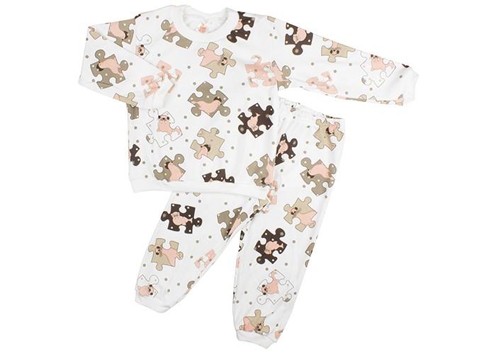 Пижамы и ночные сорочки Idea Kids Пижама Пазлы пижамы и ночные сорочки idea kids пижама собачки