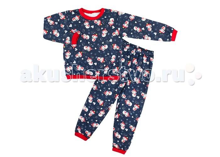 Пижамы и ночные сорочки Idea Kids Пижама Снеговик
