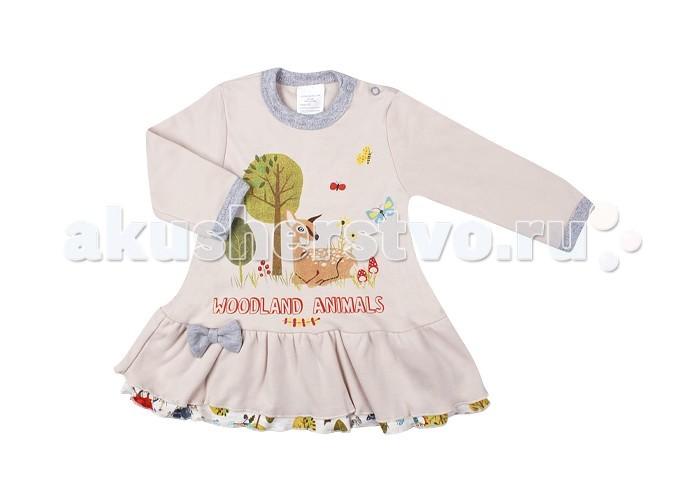 Детская одежда , Детские платья и сарафаны Idea Kids Платье Олененок арт: 364067 -  Детские платья и сарафаны