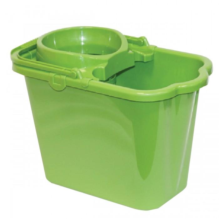 Хозяйственные товары Idea Ведро для уборки Комплект с отжимом (сетчатый) 9.5 л недорого