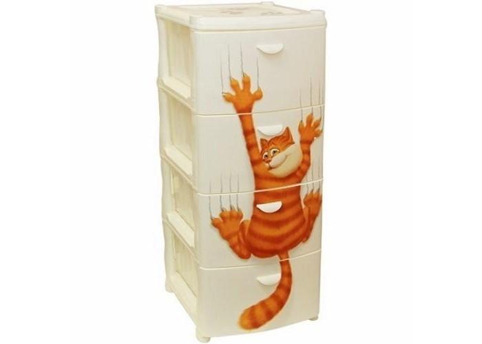 Ящики для игрушек Idea (М-Пластика) Комод Альт Деко