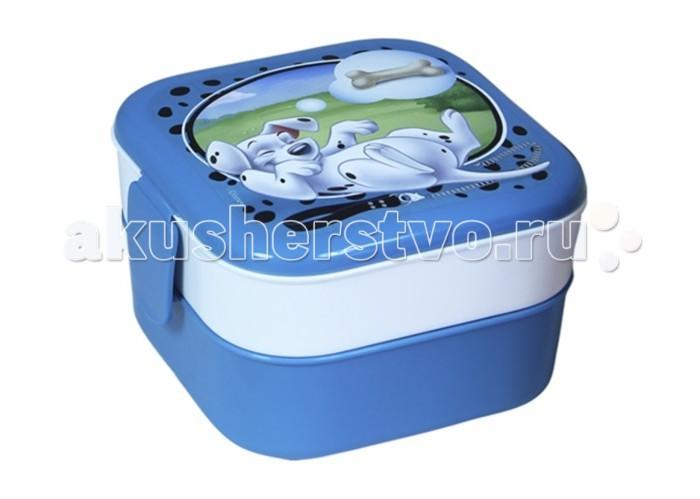 Контейнеры Idea (М-Пластика) Контейнер для обеда 0,4+0,4л Дисней контейнер для хранения idea деко бомбы 10 л