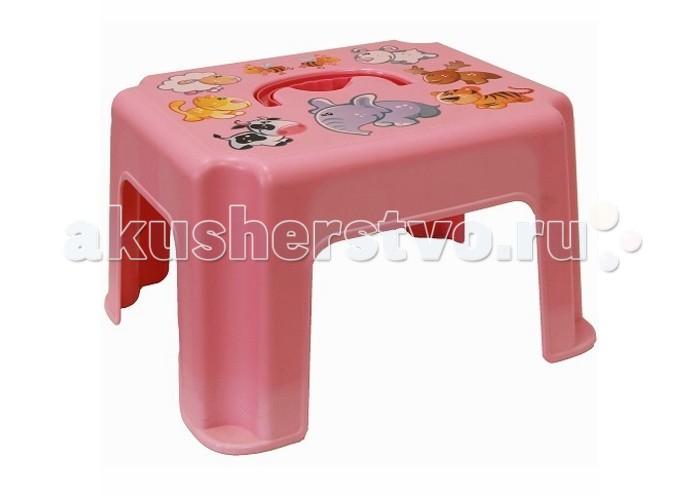 Фото Подставки для ванны Idea (М-Пластика) Табурет-подставка с рисунком