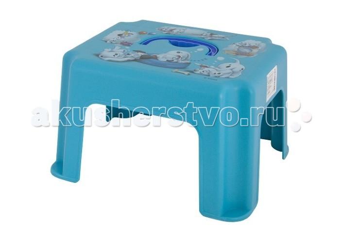 Фото Подставки для ванны Idea (М-Пластика) Табурет-подставка с ручкой Дисней