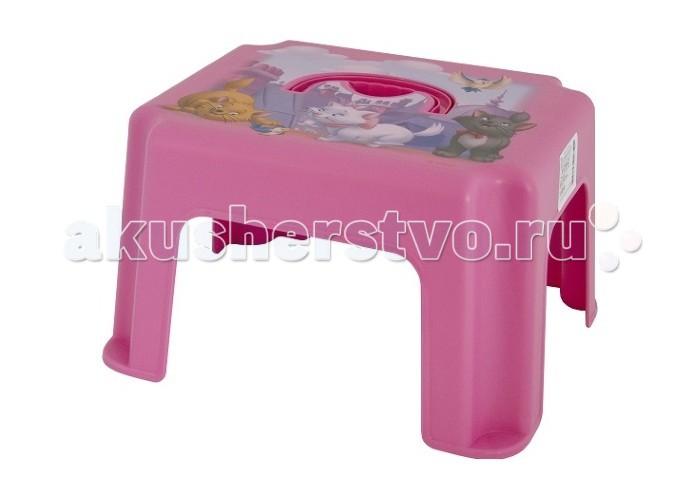 Подставки для ванны Idea (М-Пластика) Табурет-подставка с ручкой Дисней табурет т2