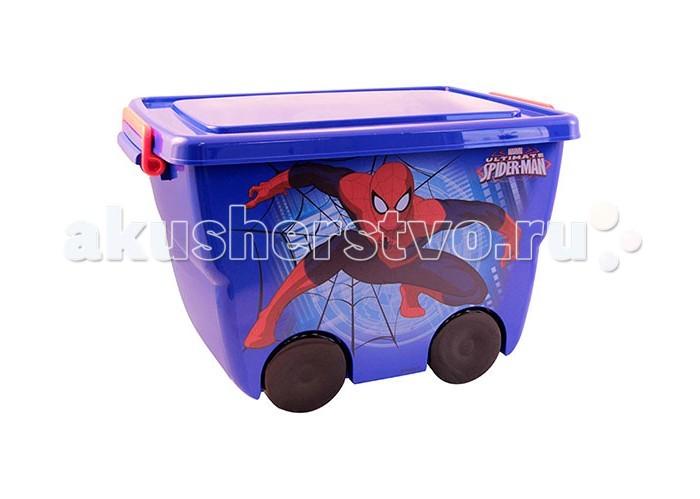 Ящики для игрушек Idea (М-Пластика) Ящик для игрушек Человек паук