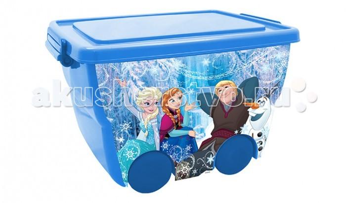 Ящики для игрушек Idea (М-Пластика) Ящик для игрушек на колёсах Дисней 45х33х28,5 см