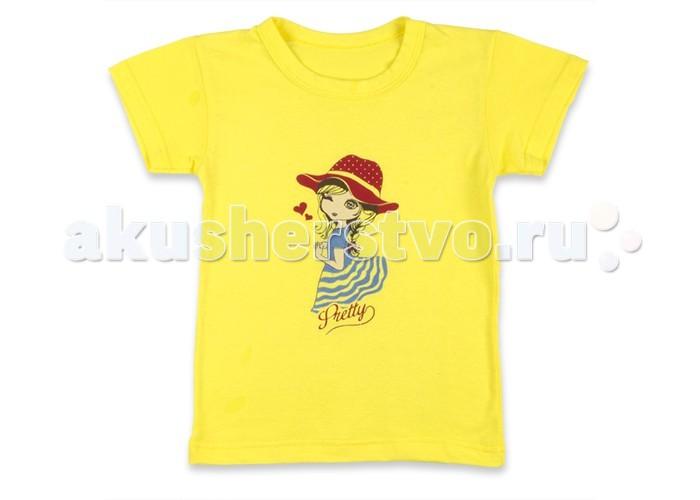 Футболки и топы Idea Kids Футболка Девочка женские топы и футболки 100%
