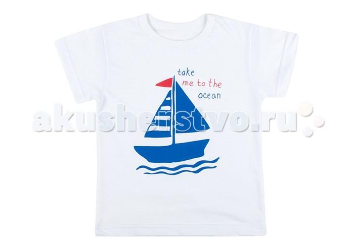 Футболки и топы Idea Kids Футболка Кораблик redgreen kids футболка redgreen kids модель 284455559