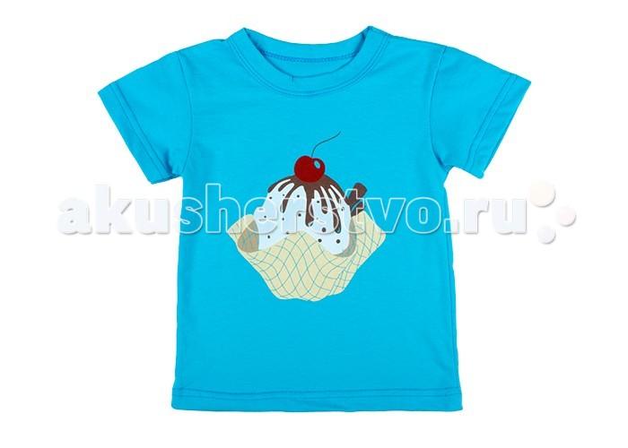 Футболки и топы Idea Kids Футболка Мороженое женские топы и футболки 100%
