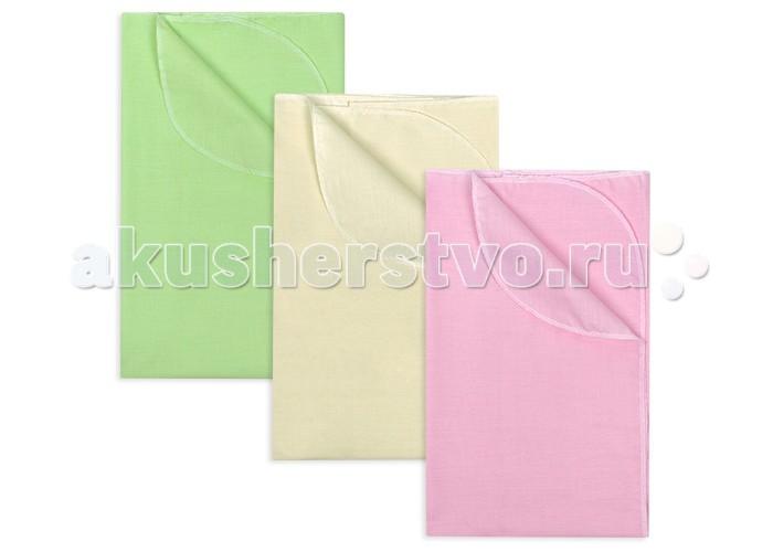 Пеленки Idea Kids Комплект бязь однотонная 3 шт. 120х75 см пеленки pecorella комплект пеленок perfect 120 х 90 3 шт