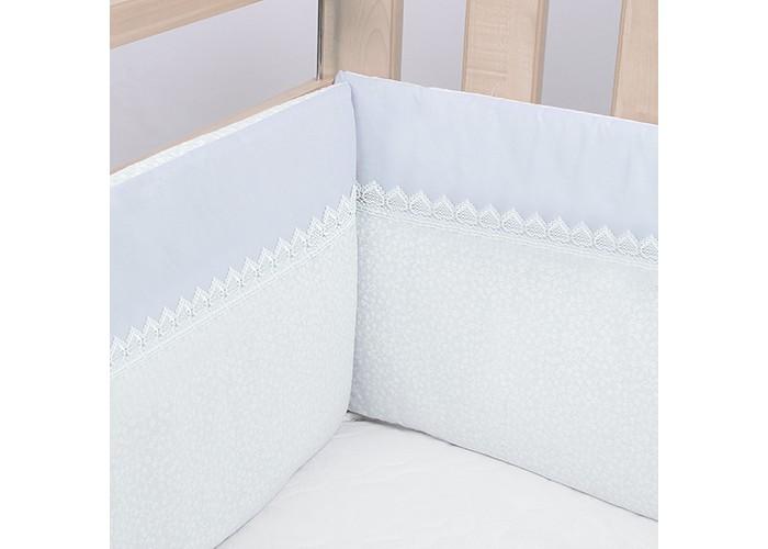Постельные принадлежности , Бортики в кроватку Idea Kids Нежность арт: 331575 -  Бортики в кроватку