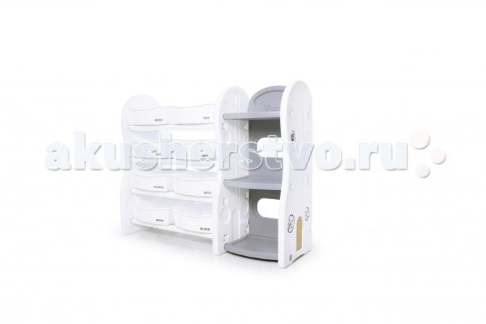 Ящики для игрушек Ifam Стеллаж для игрушек DesignToy-4