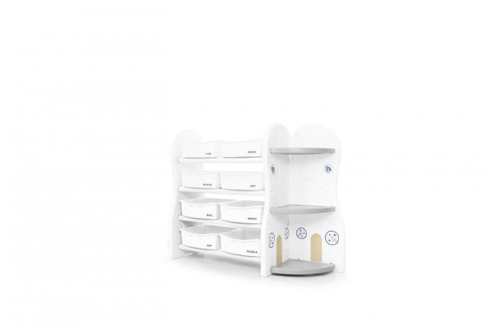 Детская мебель , Ящики для игрушек Ifam Стеллаж для игрушек DesignToy-5 арт: 422279 -  Ящики для игрушек