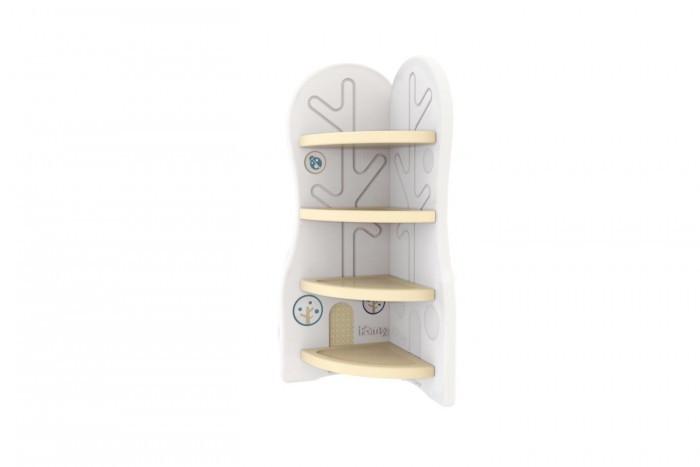 Ifam Стеллаж для игрушек угловой DesignToy-3 от Ifam