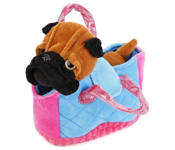 Мягкие игрушки Играем вместе My Friends Собачка в сумке 17 см мягкая игрушка сюрприз собачка рокси и ее щенки just play