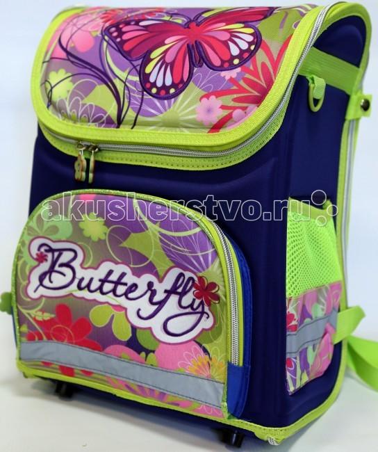 Игралия Ортопедический ранец-рюкзак Butterfly