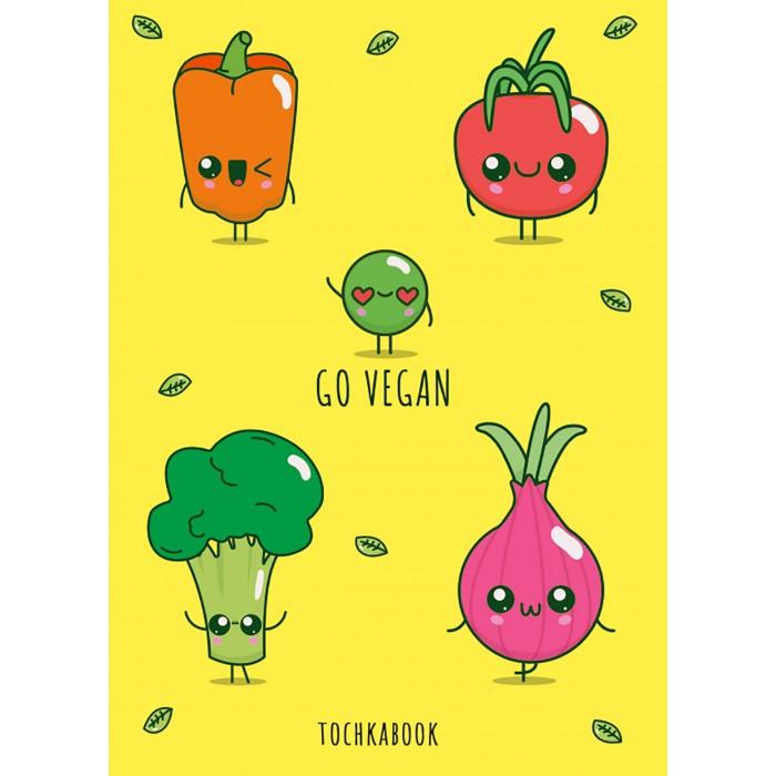 Картинка для Канцелярия Проф-Пресс Точкабук Весёлые овощи