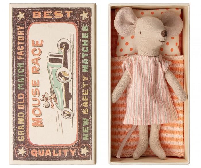Фото - Мягкие игрушки Maileg Мышка старшая сестра в коробке немешаева е дом в коробке