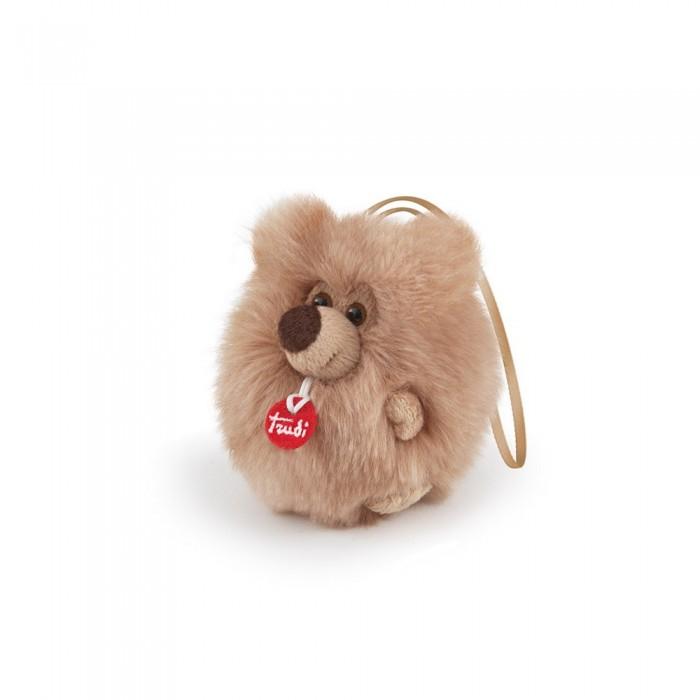 Мягкая игрушка Trudi Шпиц-пушистик на веревочке 12 см