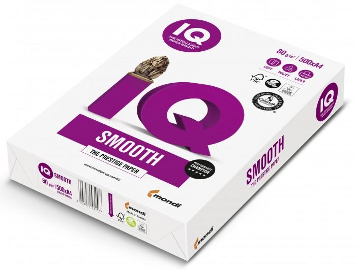 Канцелярия IQ Smooth Бумага А4 500 листов канцелярия xerox performer бумага а4 500 листов