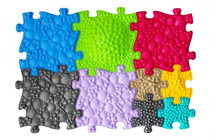 ИграПол Модульный коврик-пазл Цветочная полянка