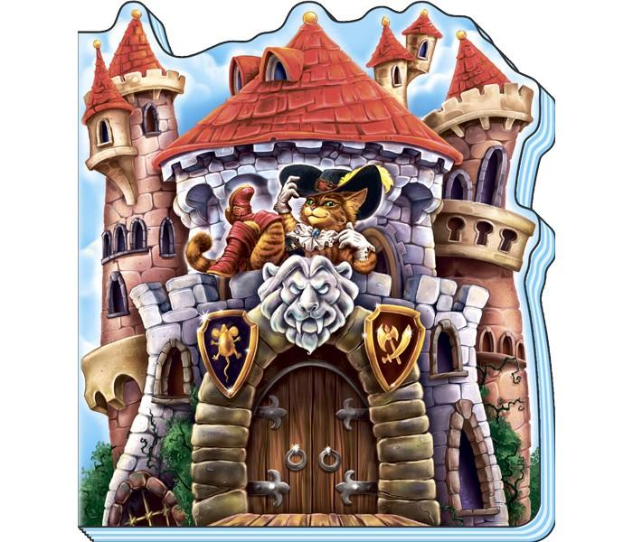 Книжки-картонки Ранок Книжка Сказки-домики - Кот в сапогах