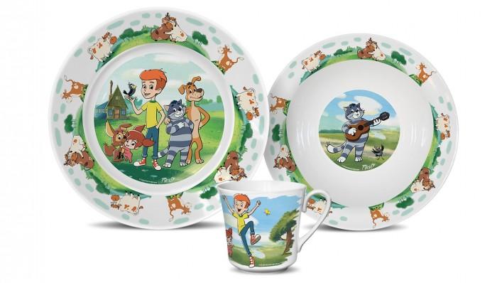 PrioritY Набор детский посуды Новое Простоквашино (фарфор)