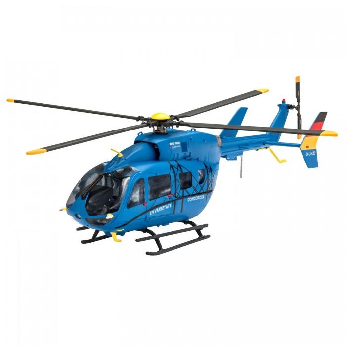 Revell Набор со сборной моделью вертолёт Eurocopter EC 145 Builder's Choice 1:72