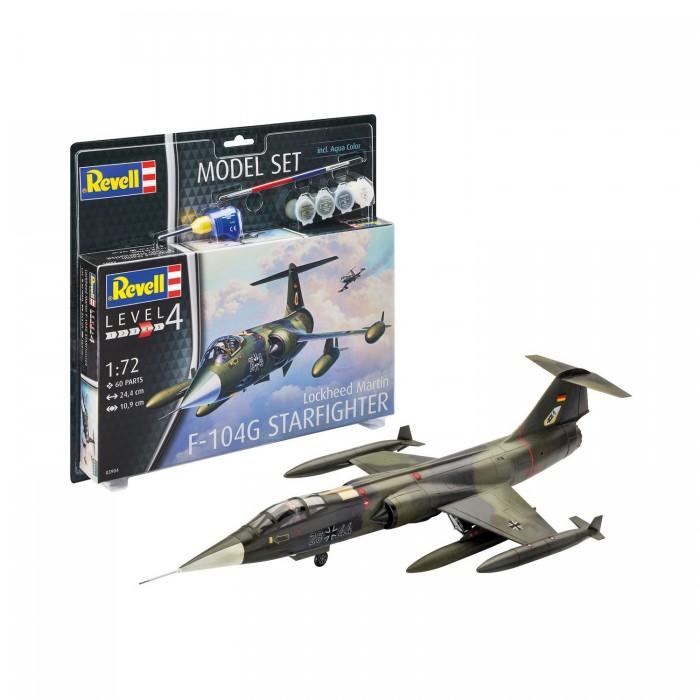 Картинка для Сборные модели Revell Набор со сборной моделью самолета F-104G Starfighter 1:72