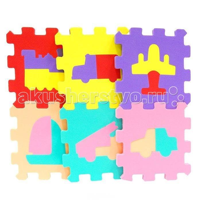 Игровые коврики Сказка Пазл 47х31 см пазлы magic pazle объемный 3d пазл эйфелева башня 78x38x35 см