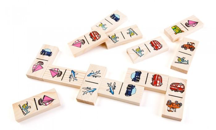 Настольные игры Томик Домино Транспорт настольные игры томик домино игрушки