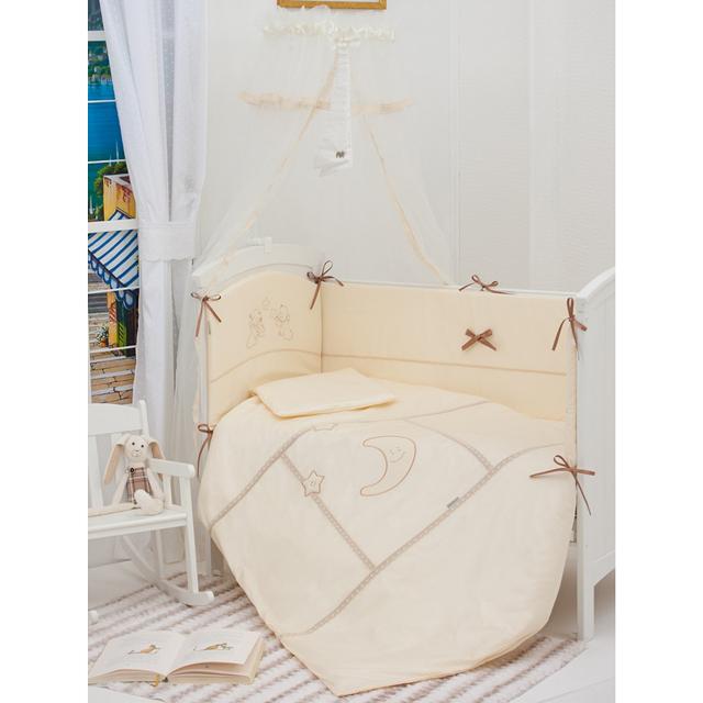 Купить Комплекты в кроватку, Комплект в кроватку Makkaroni Kids Волшебная сказка 120х60 (6 предметов)
