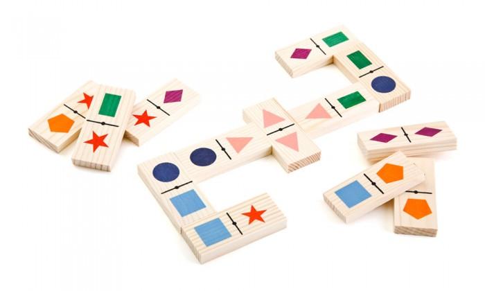 Деревянные игрушки Томик Домино Геометрические фигуры геометрические фигуры из гипса в донецке