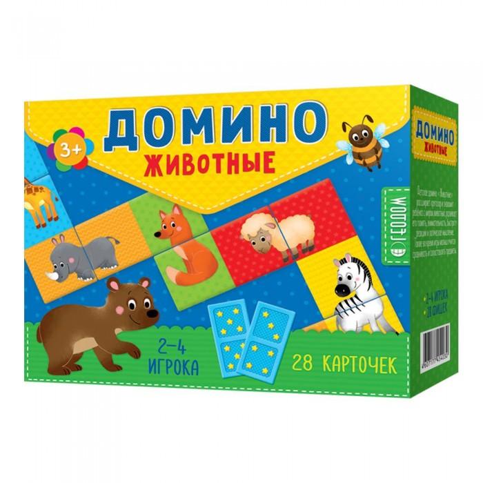 Картинка для Настольные игры Геодом Домино Животные