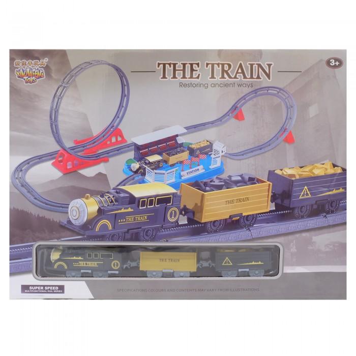 HK Industries  Набор Железная дорога (мертвая петля, поворот с подъемом)