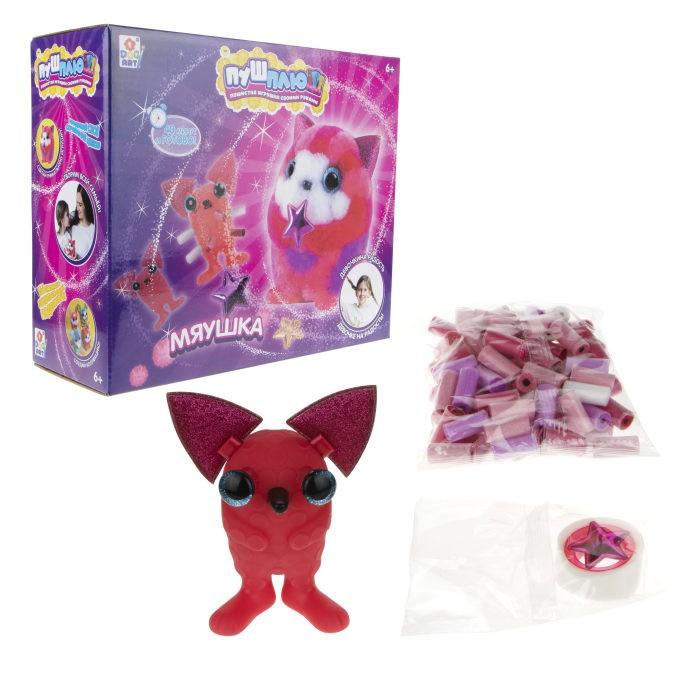 1 Toy Пуш-Плюш Набор для творчества Мяушка