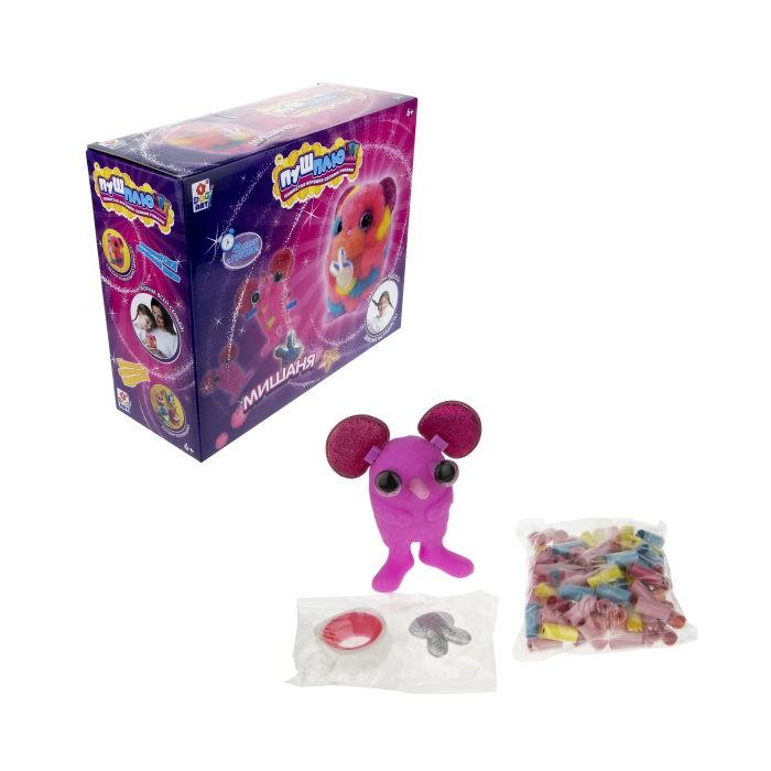 1 Toy Пуш-Плюш Набор для творчества Мишаня