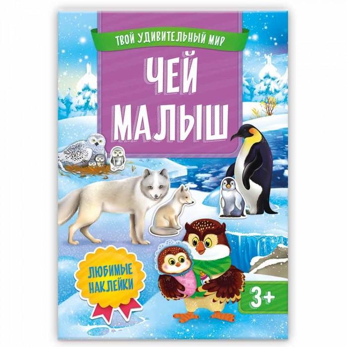 Картинка для Книжки с наклейками Геодом Книжка с наклейками Твой удивительный мир Чей малыш