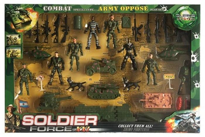 Картинка для Игровые наборы Наша Игрушка Игровой набор Армия 200335267