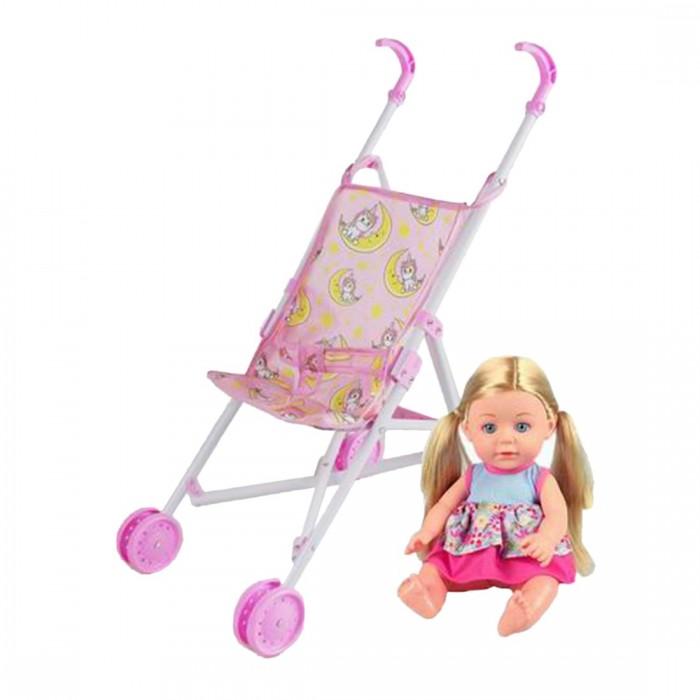 Купить Коляски для кукол, Коляска для куклы Наша Игрушка Единорог M0609-1B