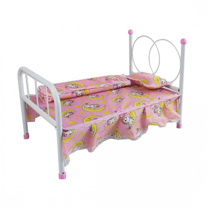 Кроватка для куклы Наша Игрушка Единорог M0609-12