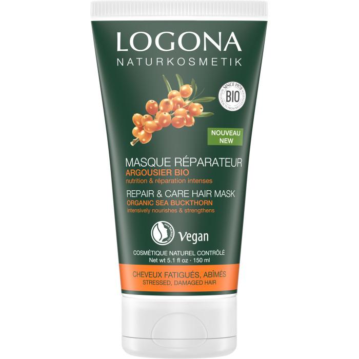Купить Косметика для мамы, Logona Маска для интенсивного восстановления волос с био-облепихой