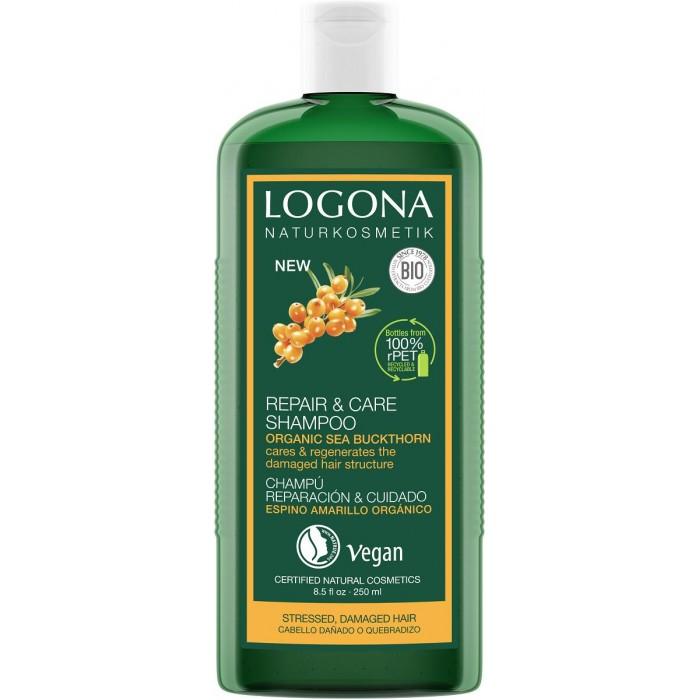 Logona Шампунь для интенсивного восстановления волос с био-облепихой