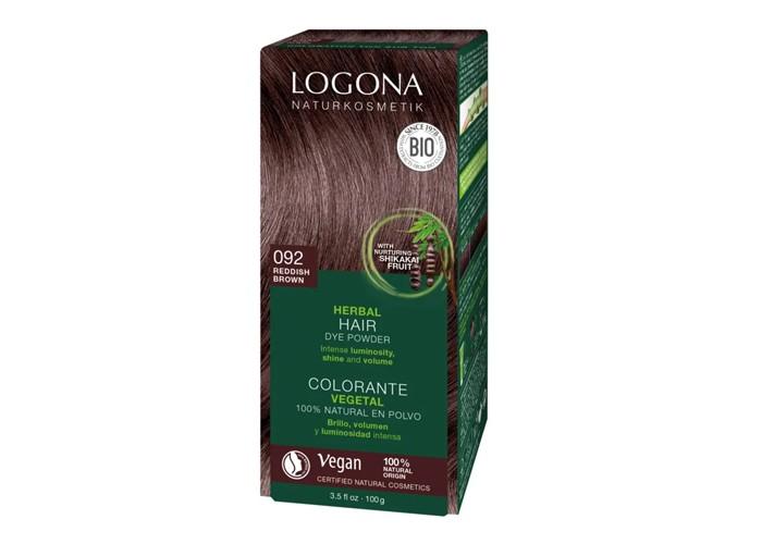 Logona Растительная краска для волос 092 Красно-коричневый