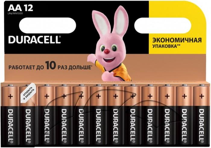 Duracell Батарейка алкалиновая Basic AA (LR06) 12 шт.