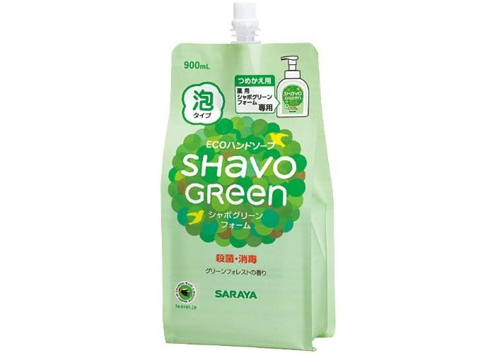 Косметика для новорожденных Saraya Shavo Green Мыло для рук 900 мл подставка 900 мл ens подставка 900 мл
